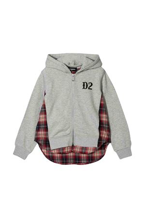 Felpa grigia Dsquared2 kids DSQUARED2 KIDS | -108764232 | DQ03PCD00SCDQ911