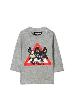 Dsquared2 gray kids T-shirt  DSQUARED2 KIDS | 7 | DQ03PXD00MPDQ911