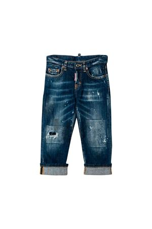 Jeans in denim scuro Dsquared2 kids teen DSQUARED2 KIDS | 9 | DQ03PYD00VVDQ01T