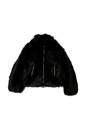 Dsquared2 kids teen black short fur coat  DSQUARED2 KIDS | 3 | DQ03Q7D00V5DQ900T