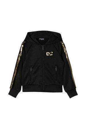 Black Dsquared2 kids teen sweatshirt  DSQUARED2 KIDS   -108764232   DQ03QSD00U8DQ900T