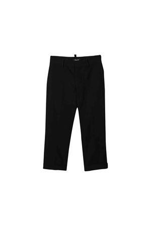Pantaloni neri DSQUARED2 Kids teen DSQUARED2 KIDS   9   DQ03RGD00U8DQ900T