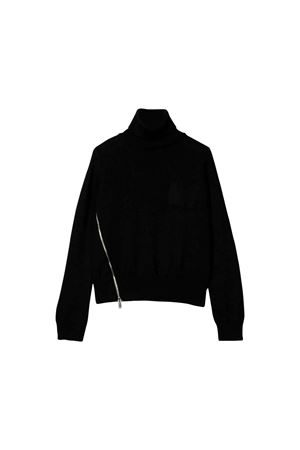 Black sweater Dsquared2 kids teen high-necked  DSQUARED2 KIDS | 7 | DQ03RQD00W8DQ900T