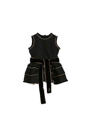 Black DSQUARED2 kids sleeveless dress DSQUARED2 KIDS | 11 | DQ03S8D00P1DQ900