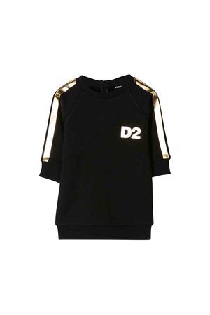 Black DSQUARED2 kids sweatshirt  DSQUARED2 KIDS | 11 | DQ03SAD00Q8DQ900