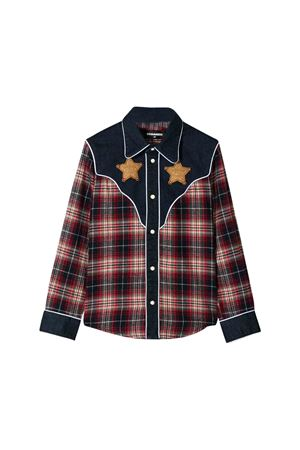 Camicia tartan DSQUARED2 kids teen DSQUARED2 KIDS | 6 | DQ03SCD00VCDQ415T