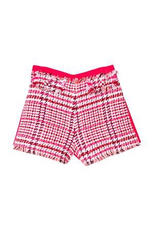 Fuchsia shorts Elisabetta Franchi la mia bambina teen  ELISABETTA FRANCHI LA MIA BAMBINA | 5 | EFBE18TV553UE0230090T