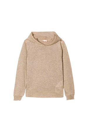Elisabetta Franchi la mia bambina butter-colored sweatshirt ELISABETTA FRANCHI LA MIA BAMBINA   7   EFMA480001UE0100112T