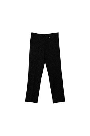 Black Elisabetta Franchi la mia bambina trousers teen  ELISABETTA FRANCHI LA MIA BAMBINA | 9 | EFPA70TV421UEUNI0128T