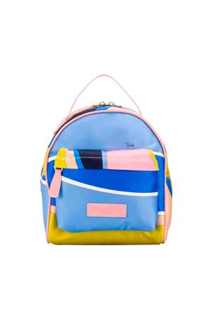 Pink Emilio Pucci junior backpack  EMILIO PUCCI JUNIOR | 279895521 | 9L0148LB980620RS