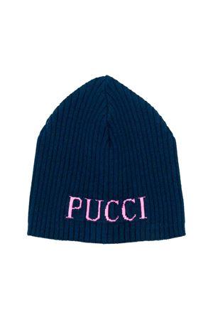 Emilio Pucci junior blue cap  EMILIO PUCCI JUNIOR | 75988881 | 9L0227LX400620