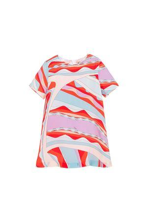 FANTASY GIRL RED DRESS EMILIO PUCCI KIDS  EMILIO PUCCI JUNIOR | 11 | 9L1241LD850411CE
