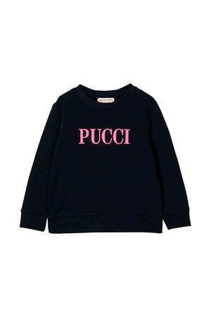 Felpa nera bambina Emilio Pucci junior EMILIO PUCCI JUNIOR | -108764232 | 9L4000LX130620