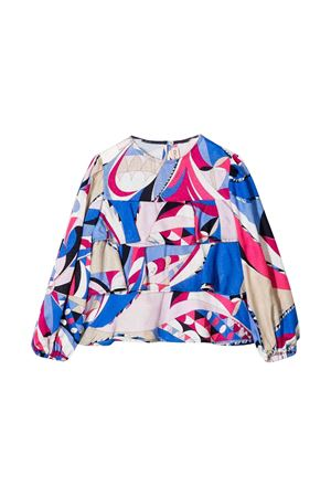 Emilio Pucci multicolored junior teen blouse  EMILIO PUCCI JUNIOR | 6 | 9L5000LB820607FUT