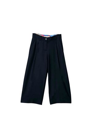 Emilio Pucci junior blue trousers  EMILIO PUCCI JUNIOR | 9 | 9L6011LB060620