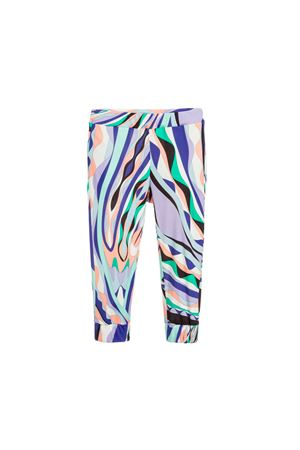 FANTASY GIRL TROUSERS EMILIO PUCCI KIDS S TEEN EMILIO PUCCI JUNIOR | 9 | 9L6180LD840713VIT