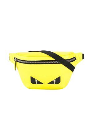 Fluorescent yellow fendi kids pouch FENDI KIDS | -962723037 | 7VB011A7TJF044V