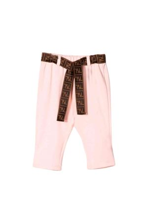 Fendi kids pink newborn trousers  FENDI KIDS | 9 | BFF120A6IKF16WG