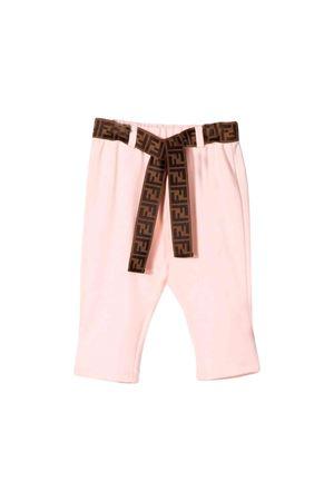 Pantaloni rosa neonata Fendi kids FENDI KIDS | 9 | BFF120A6IKF16WG
