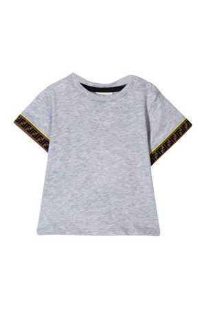 Fendi gray kids t-shirt  FENDI KIDS | 8 | BMI1937AJF0HA2