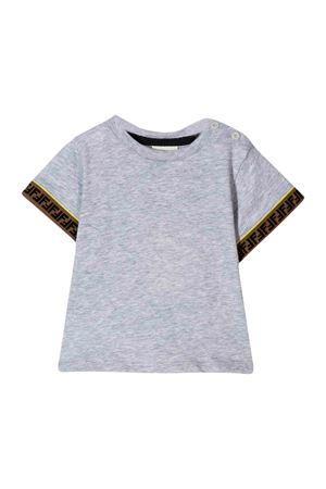 T-shirt grigia Fendi kids FENDI KIDS | 8 | BMI1937AJF0HA2