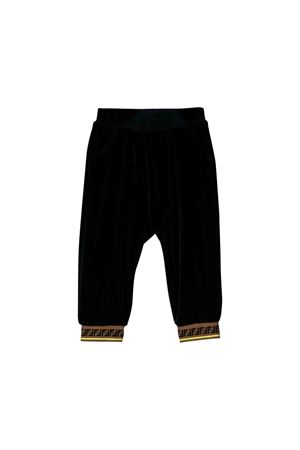 Fendi kids blue trousers  FENDI KIDS | 9 | BUF019STNF16WE