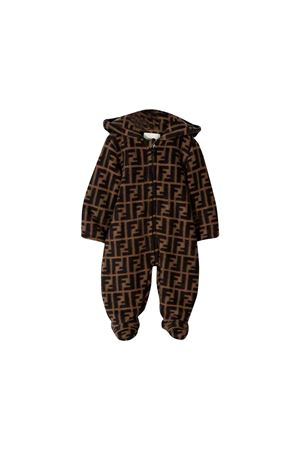 Fendi brown baby suit FENDI KIDS | 19 | BUH015A8L5F0E0X