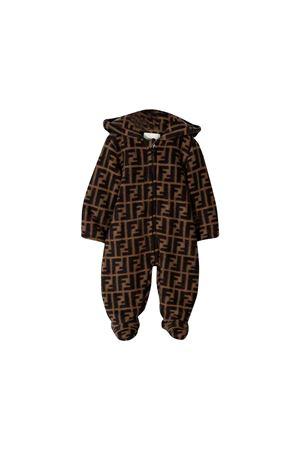 Tutina marrone Fendi kids FENDI KIDS | 19 | BUH015A8L5F0E0X