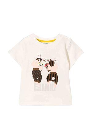White T-shirt Fendi kids  FENDI KIDS | 8 | BUI007ST8F16WF