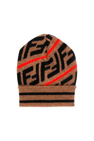 Fendi kids camel hat  FENDI KIDS | 75988881 | BUP016A2M3F0H53