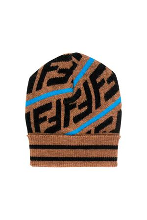 Fendi kids camel hat  FENDI KIDS | 75988881 | BUP016A2M3F17GK