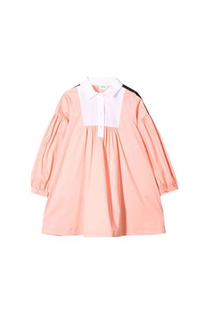 PINK PEACH DRESS FENDI KIDS FENDI KIDS | 11 | JFB281A69JF0AU4