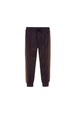 BLUE JOGGING PANTS FENDI KIDS TEEN  FENDI KIDS | 9 | JMF171A69DF16WET