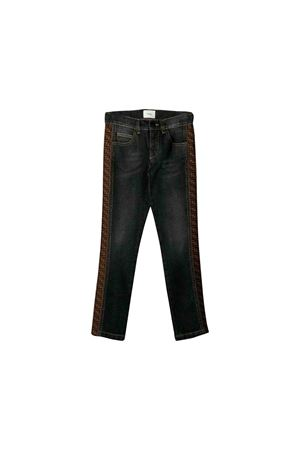 Jeans in dark denim Fendi kids FENDI KIDS | 9 | JMF213A8LAF0QA1