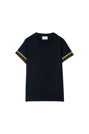 T-shirt blu Fendi kids FENDI KIDS | 8 | JMI2917AJF16WE