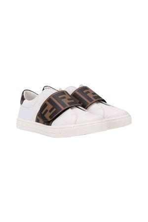 Fendi kids white sneakers  FENDI KIDS | 90000020 | JMR296A7N4F0C1A