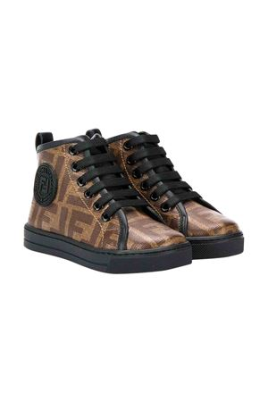 Sand high-top sneakers Fendi kids  FENDI KIDS | 12 | JMR299A7N5F16YT