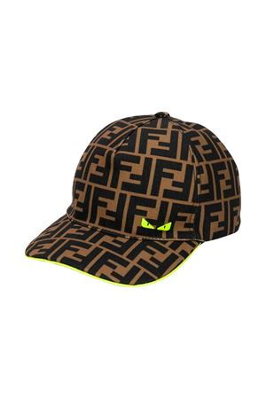 Fendi kids hat  FENDI KIDS | 75988881 | JUP004A2LTF17GI