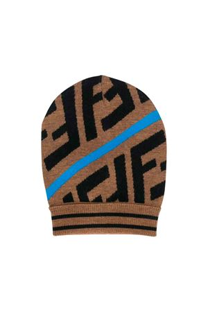 Fendi kids camel hat  FENDI KIDS | 75988881 | JUP012A2M4F17GK