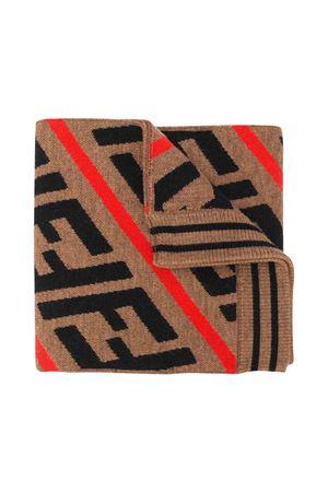 Fendi kids sand scarf  FENDI KIDS | 77 | JUQ001A2M4F0H53