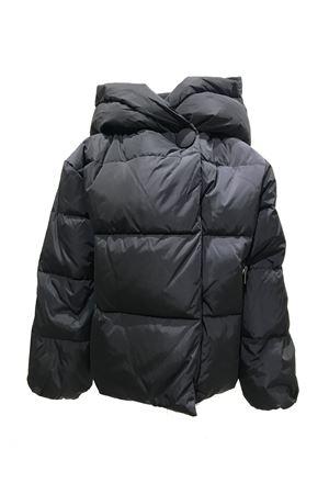 Black teen lightweight jacket with hood Freedomday Junior FREEDOMDAY JUNIOR | 13 | IFRJG4220U121RDBLACKT