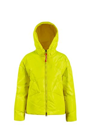 Yellow teen lightweightjacket with hood Freedomday Junior FREEDOMDAY JUNIOR | 13 | IFRJG4240U121RDYELLOWT
