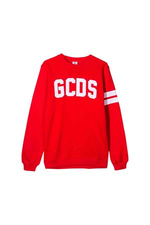 Red GCDS kids sweatshirt  GCDS KIDS | -108764232 | 020411040