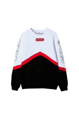Red, black and white GCDS kids sweater GCDS KIDS | -108764232 | 020446002/13