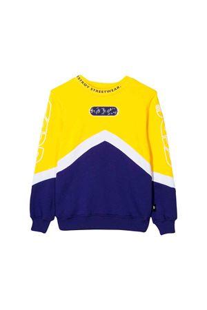 White, blue  and yellow GCDS kids sweatshirt  GCDS KIDS | -108764232 | 020446020/05