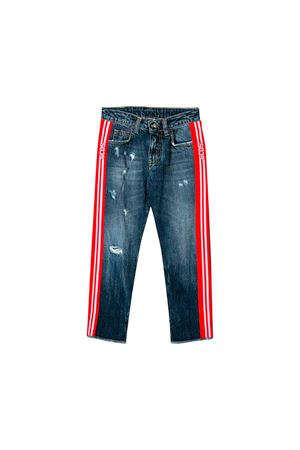 Jeans in denim scuro bambino GCDS kids GCDS KIDS | 9 | 020459200