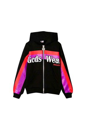 GCDS black kids sweatshirt  GCDS KIDS | -108764232 | 020483110