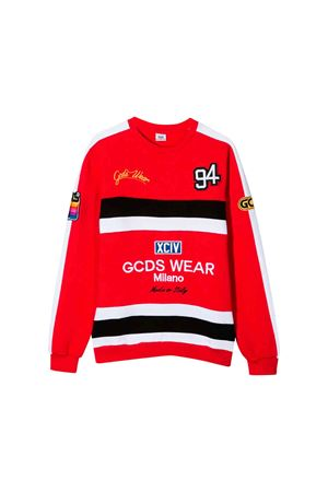 Red kids GCDS sweatshirt  GCDS KIDS | -108764232 | 020489040