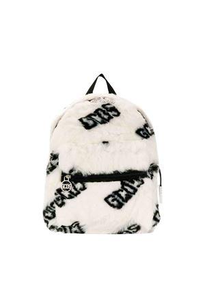 White GCDS kids fur backpack  GCDS KIDS | 279895521 | 020515002