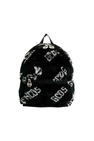 Black GCDS kids fur backpack  GCDS KIDS | 279895521 | 020515110
